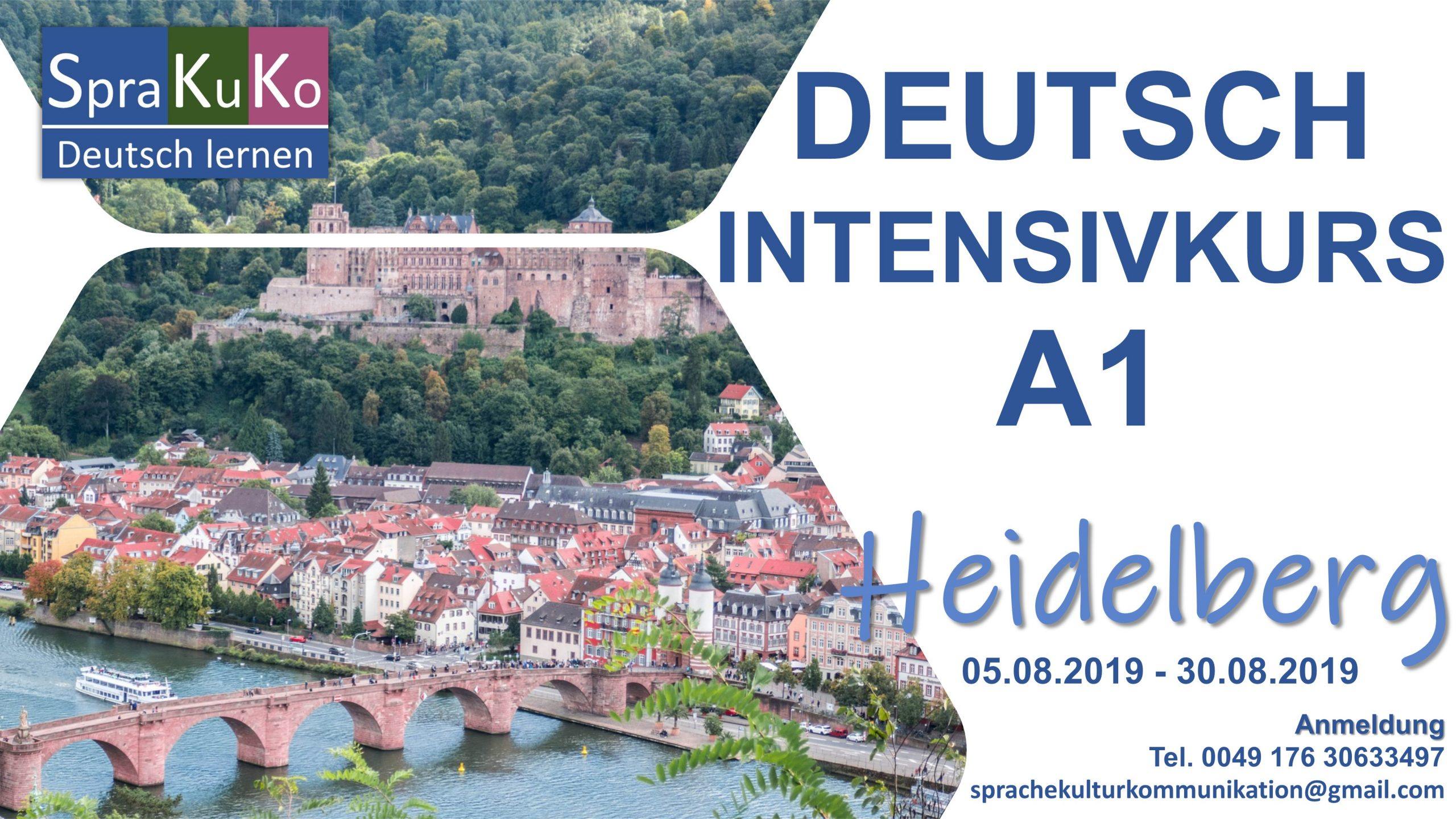 Intensivkurs Sommerkurs Heidelberg Intensive Course German in Heidelberg