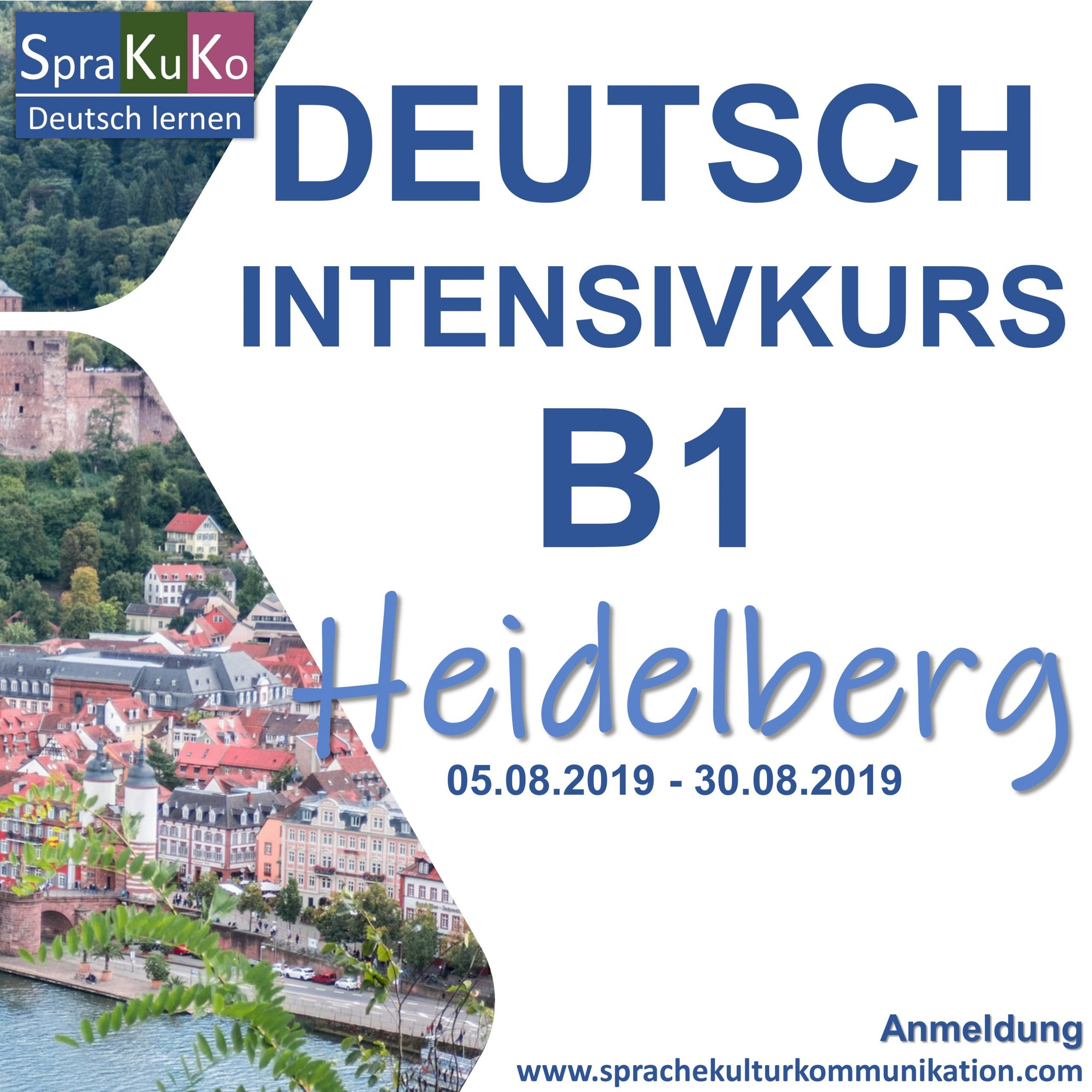 Deutsch Intensivkurs B1 Heidelberg